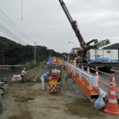 川内港電源立地地域対策交付金工事(1工区)