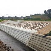 天辰第一地区土地区画整理事業 第2立山橋橋梁下部工(A2)工事
