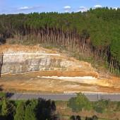 廃棄物管理型処分場周辺地域環境整備工事(阿茂瀬川2工区)