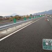 九州自動車道 加治木JCT~姶良IC間防護柵改良工事