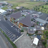 道の駅樋脇駐車場舗装整備工事