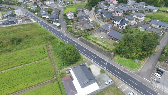 第14号県単道路整備(舗装補修)工事(中福良工区)