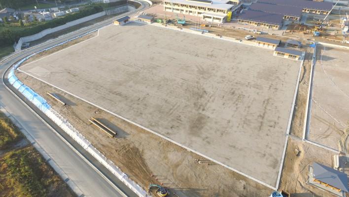 小中一貫校整備事業 東郷学園義務教育学校グラウンド整備工事