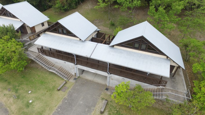 北薩広域公園バンガロー改修工事(B-3、B-4棟)