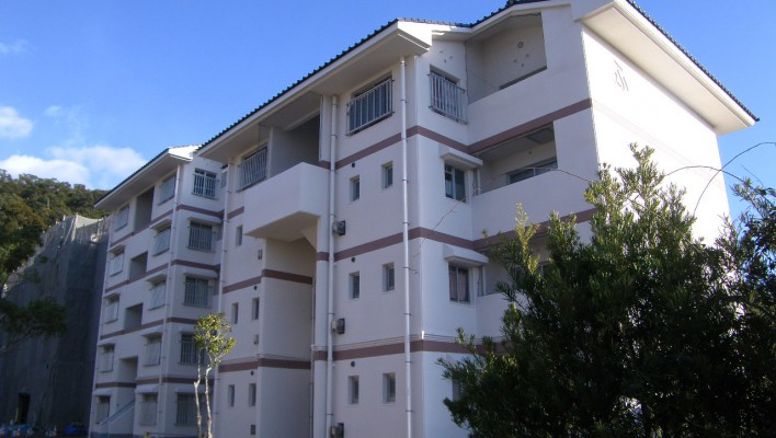 社会資本整備総合交付金事業 宮下住宅6号棟共用部分改善工事