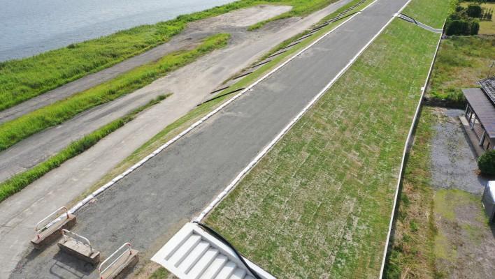 五代地区堤防強化その5工事